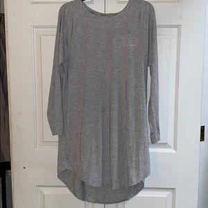 Calvin Klein grey nightgown